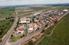Aerial photograph of Route 21 Corporate park corner of Nellmapius Drive & M57